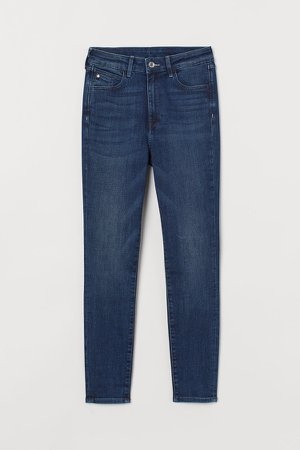 Super Skinny High Jeans - Blue