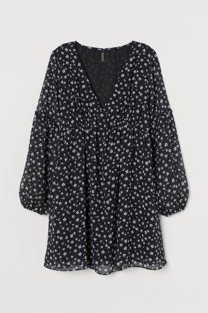 A-line Dress - Black