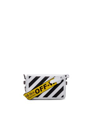 Diagonal Mini Flap Bag