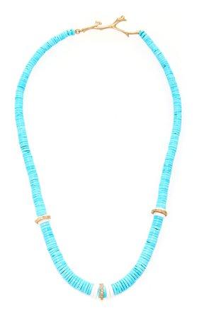 Annette Ferdinandsen Turquoise Amazon Necklace