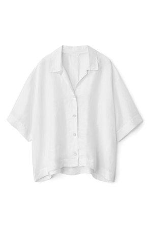 rag & bone Reed Linen Blend Shirt | Nordstrom