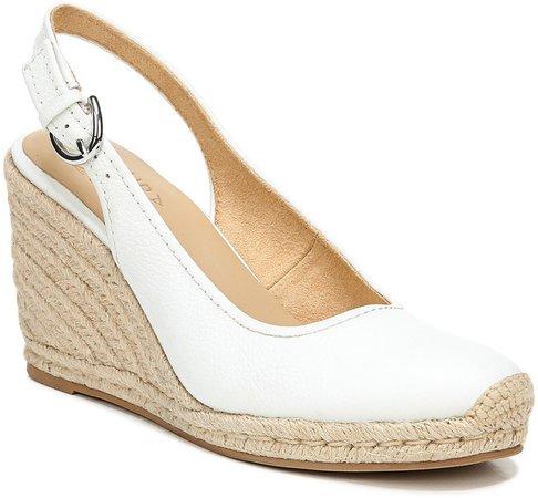 Pearl Espadrille Wedge Sandal