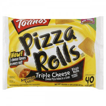 Totino's Pizza Rolls Triple Cheese - 40 ct » Frozen Foods » General Grocery