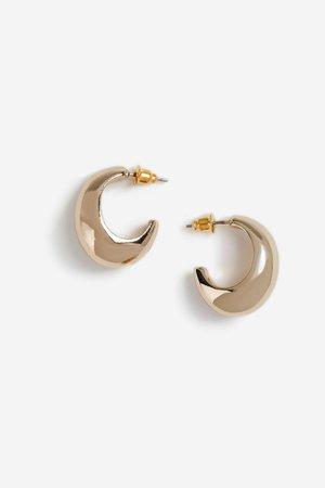 **Mini Smooth Hoop Earrings | Topshop