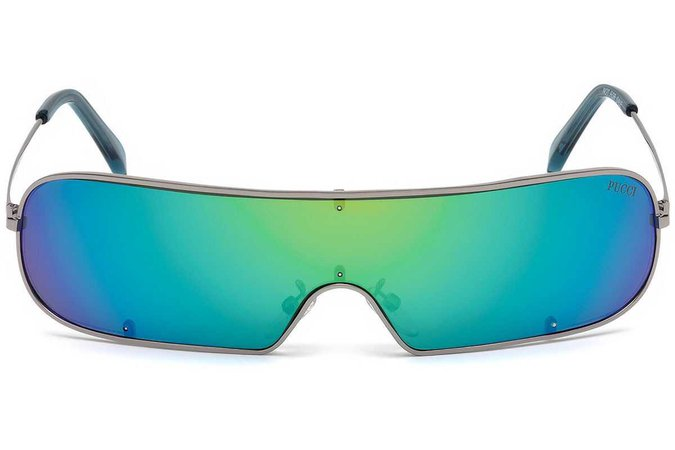 emilio pucci ep0068 sunglasses blue