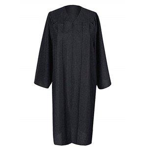 Amazon.com: 2019 Matte Adult Graduation Gown Cap Tassel Set (Black, 51''[5'6''-5'8'']): Clothing
