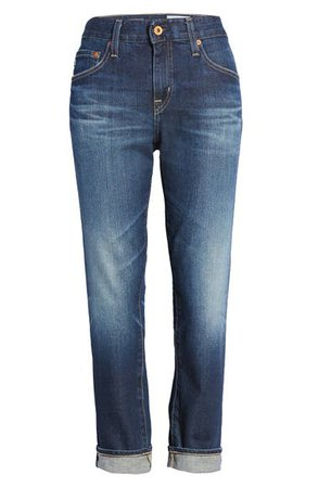 AG Ex-Boyfriend Relaxed Slim Jeans (7 Years Earnest) | Nordstrom