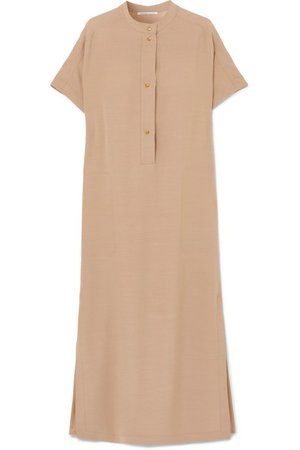 Agnona | Oversized stretch-cady dress | NET-A-PORTER.COM