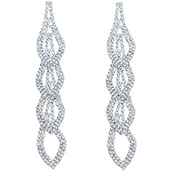 Amazon.com: Vijiv Gatsby Earrings Art Deco Vintage 1920s Flapper Jewelry Accessories Party: Clothing