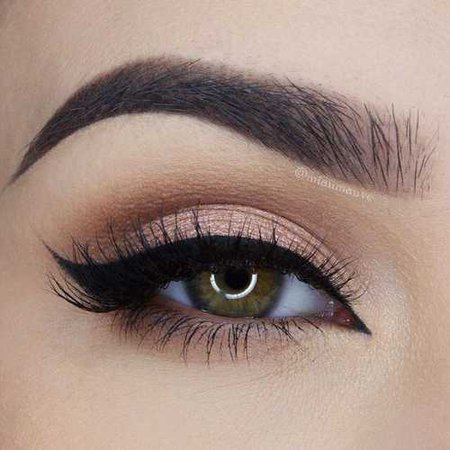 eyes, eyebrows e eyeliner imagem no We Heart It