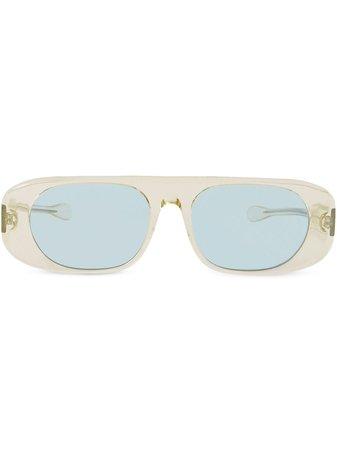 Burberry Blake Curved-Frame Sunglasses Ss20 | Farfetch.com