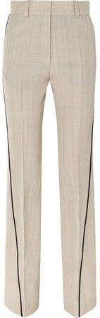 Hardy Woven Straight-leg Pants - Beige