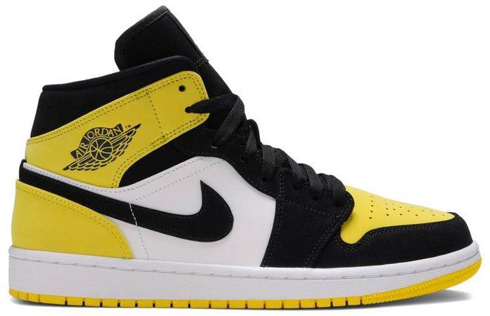 Air Jordan 1 Mid SE 'Yellow Toe' - Air Jordan - 852542 071 | GOAT