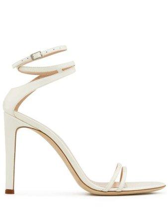 Giuseppe Zanotti Catia 105Mm Ankle Strap Sandals E000040002 White | Farfetch