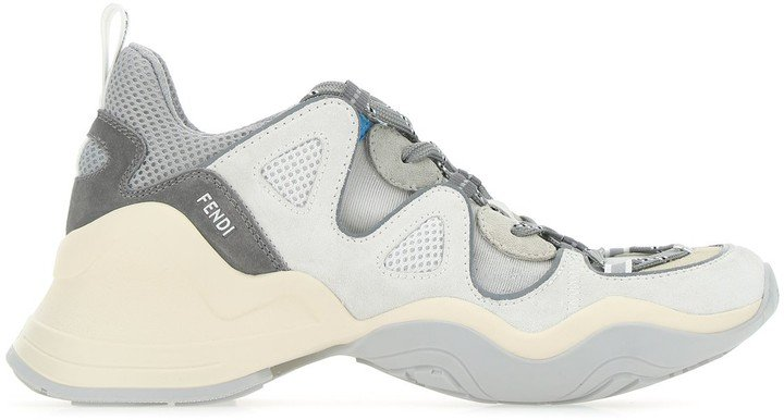 Panelled Chunky Sole Sneakers