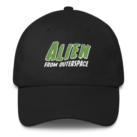 """""""Alien from Outerspace"""" Dad hat (More Colors) – Adorned By Chi"""