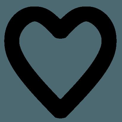 glowing heart filler