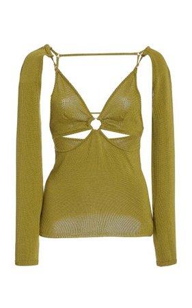 Kenzie Knit Top By Cult Gaia   Moda Operandi