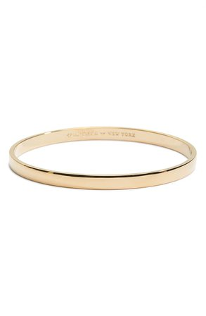 kate spade new york idiom - heart of gold bangle | Nordstrom