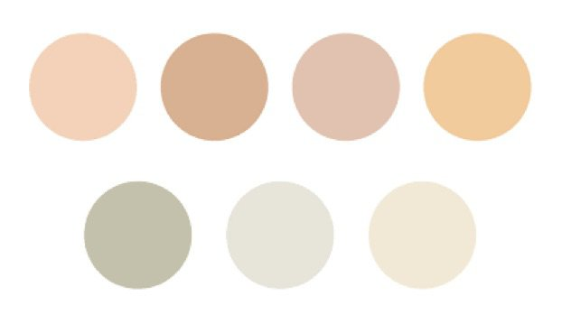 neutral warm colors