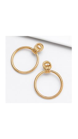 classic geometric earrings