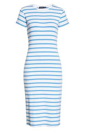 Polo Ralph Lauren Stripe T-Shirt Dress   Nordstrom