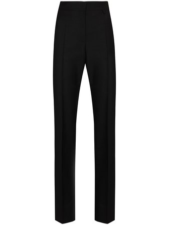 Givenchy High Waisted Pleated Front Trousers - Farfetch