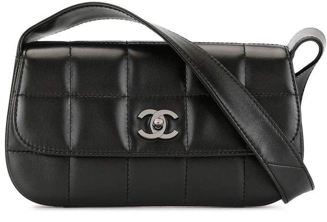 Chanel Pre Owned 2004 Choco Bar shoulder bag