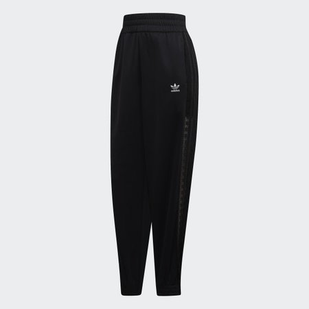 adidas Lace Track Pants - Black | adidas US