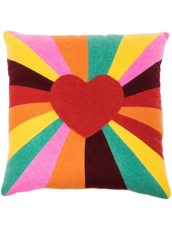 The Elder Statesman Tes Ray Love Cashmere Cushion - Farfetch