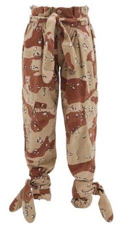 Re/Done X The Attico Camo Pants