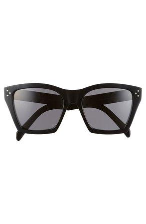 CELINE 55mm Cat Eye Sunglasses   Nordstrom
