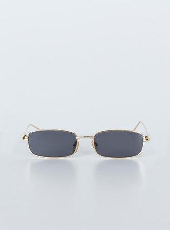 Nirvana Sunglasses Gold