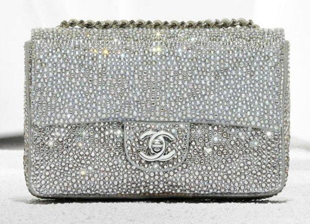 coco chanel silver clutch bag - Google Search