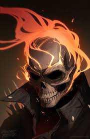 Ghost Rider Marvel Goth