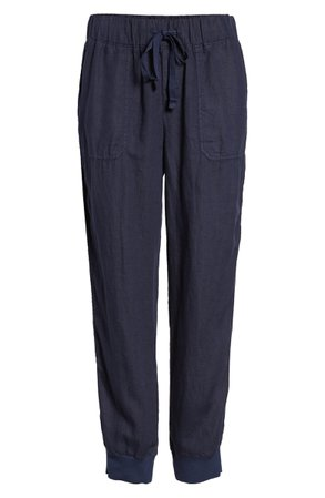 Caslon® Linen Jogger Pants (Regular & Petite)   Nordstrom