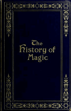 the history of magic blue book