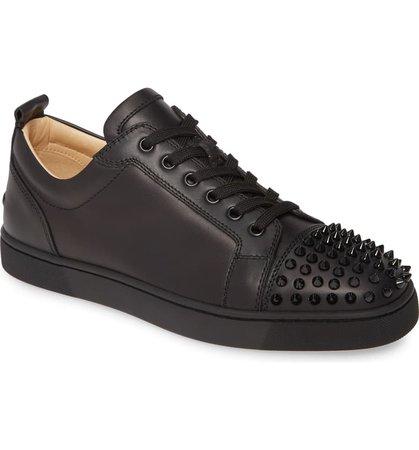 Christian Louboutin Louis Junior Spikes Sneaker (Men)   Nordstrom