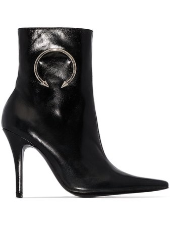 Shop black Dorateymur Panther 110mm ankle boots with Express Delivery - Farfetch