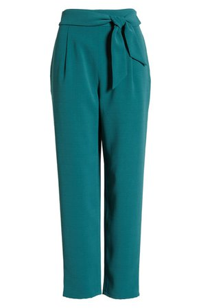 Leith Tie Front Pants   Nordstrom