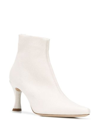 BY FAR Heeled Ankle Boots - Farfetch