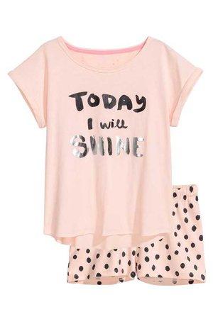 H&M Pajamas Set