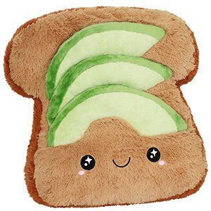 squishable.com: Comfort Food Avocado Toast