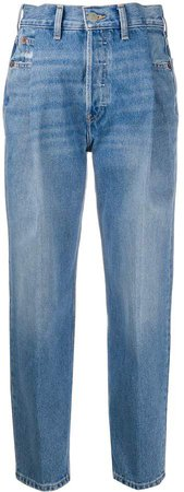 Zoot high-rise tapered jeans