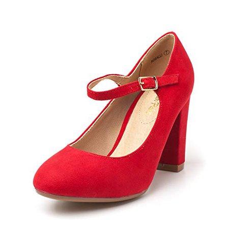 Amazon.com | DREAM PAIRS Gloria Women's Classic Elegant Versatile Stiletto Dress Platform Pumps Heels Shoes | Pumps