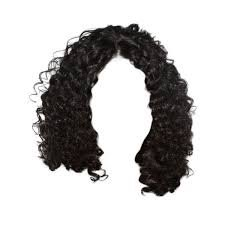 curly wig png - Google Search