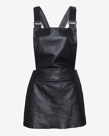 Leather Jumper Dress