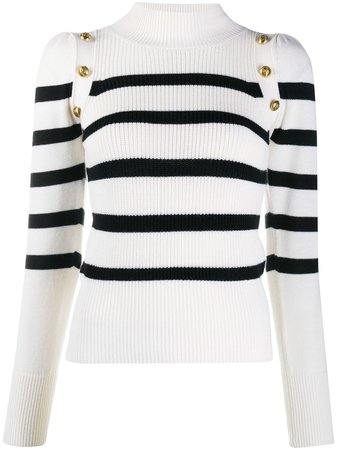 Pinko Striped Knit Jumper