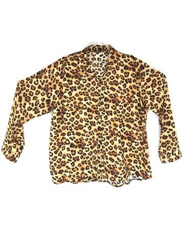 Camisa animal print leopardo
