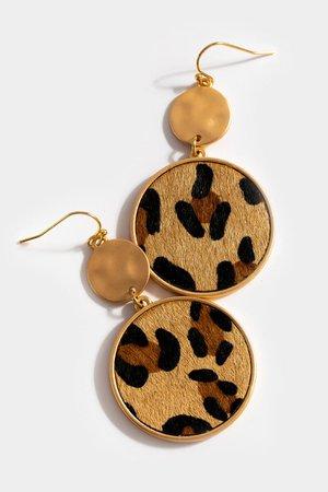 Lana Circle Drop Earrings | francesca's